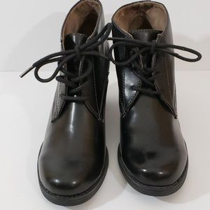 Naturalizer Natural Soul Black Ankle Boots Sz 9